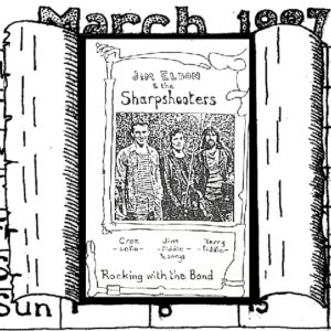 Jim Eldon & The Sharpshooters – Rocking with the Band
