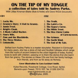 Audrey Parks – On the Tip of my Tongue
