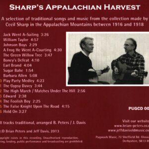 Brian Peters & Jeff Davies – Sharp's Appalachian Harvest