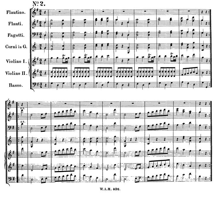 Sunday 22nd March: Michael Turner's Waltz (Mozart 6 Deutsche Tanze No. 2 KV536)